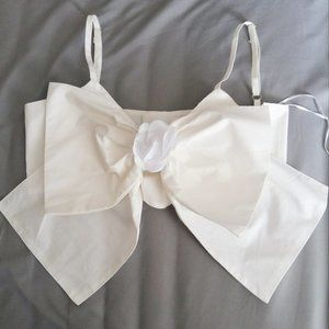 Authentic Chanel Bow Bralette in size 38